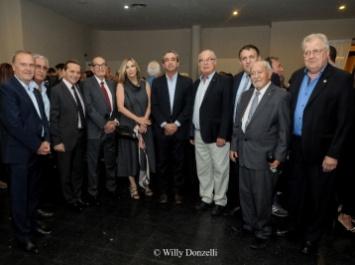 Participación del brindis de fin de año de la Asociación empresaria de Rosario y entidades adheridas